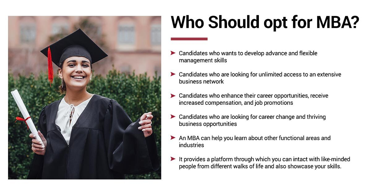 Who Should opt for MBA