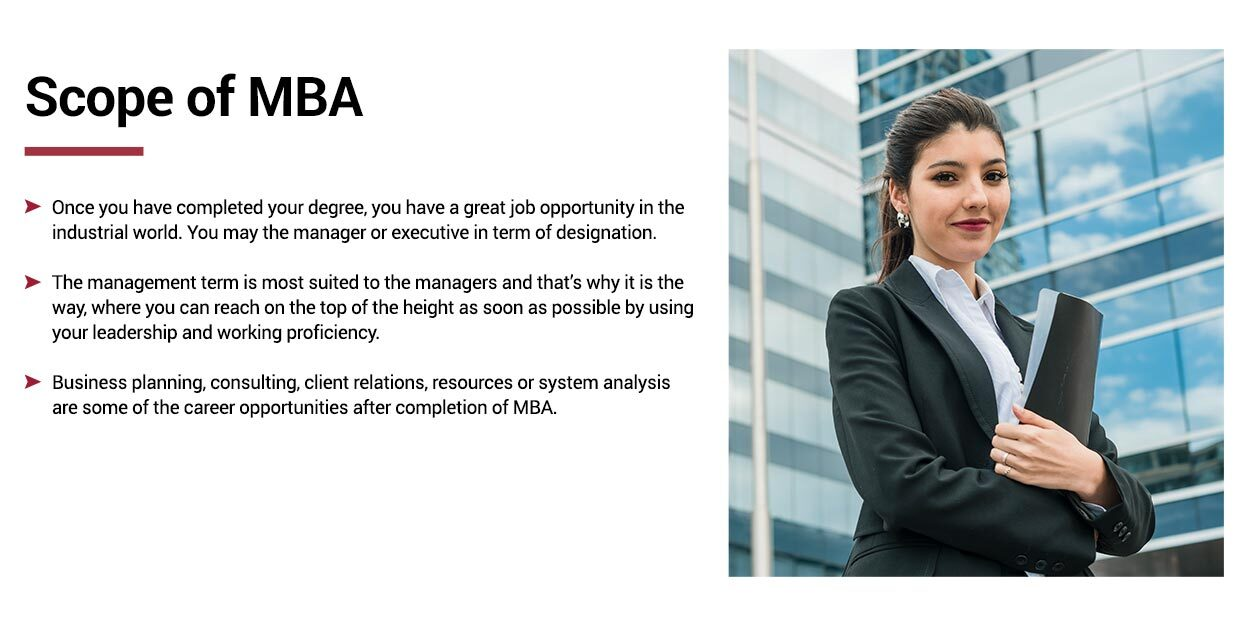 Scope of MBA